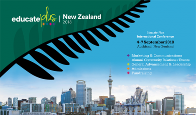 REGISTER NOW – Educate Plus International Conference  – Auckland 2018