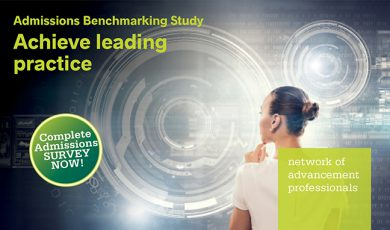 Admissions Benchmarking Survey – Take Part NOW!