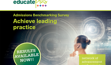 Results Available Now – Admissions' Benchmarking
