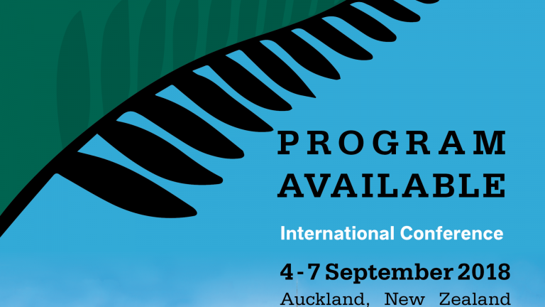 Program Available NOW for the International Conference